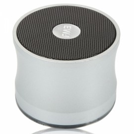 A109 Fashionable Wireless Bluetooth Speaker with TF Card Slot Silver