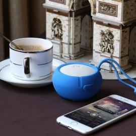 Ausdom AS2 Waterproof Silicone Portable Bluetooth Speaker Blue