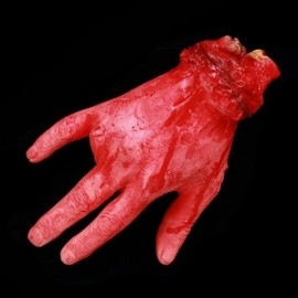 Halloween Horror Props Severed Fingers Haunted House Party Decoration Scary Faked Human Arm Finger Leg Foot
