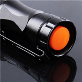XPE Q5 3 Mode 500LM White Light Waterproof Zooming Outdoor Flashlight Black