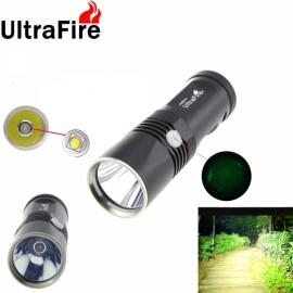 UltraFire K2 1 x-T6 800 Lumens Waterproof LED Flashlight Black