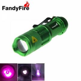 FandyFire OSRAM IR LED 850nm Infrared Flashlight Torch Night Vision Green