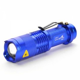 Ultrafire UK68 3W 3 Modes Waterproof LED Flashlight Set Blue