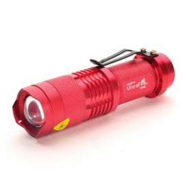 Ultrafire UK68 3W 3 Modes Waterproof LED Flashlight Set Red