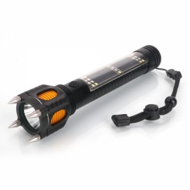 2500 Lumen LED Flashlight w/ Rechargeable Emergency Power/Compass/Spike