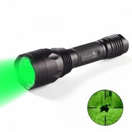 UItraFire 532nm Green Light Outdoor Lighting Flashlight Gray