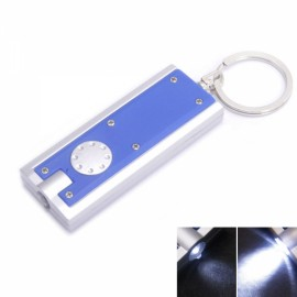 10 Pcs LED Camping Key Flashlight Torch Keychain Lamp