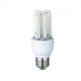 LED E27 5W Corn Lamp Bulb U Shape Energy Saving Light - White
