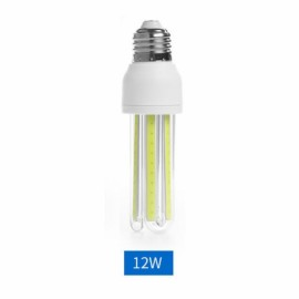 LED E27 12W Corn Light Bulb Energy Saving Light COB U Shape Pure White
