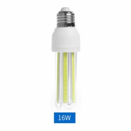 E27 16W Energy Saving LED Corn Light Bulb COB U Shape Pure White