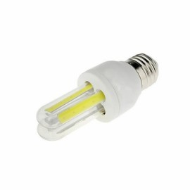 LED E27 7W Bulb COB U Shape Energy Saving Corn Light Warm White