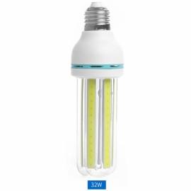 E27 32W LED Bulb COB U Shape Corn Light Energy Saving Light Warm White