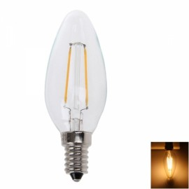 E14 4W 2700K-3300K Warm White Light LED Candle Light White (220V)