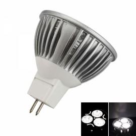 MR16 3W 240 Lumen 6000K Pure White LED Light Bulb (12V)