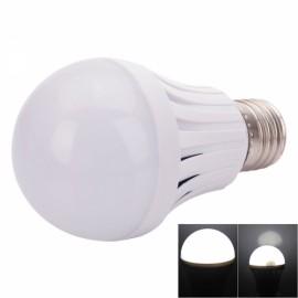 E27 5W 300-400LM White Light LED Smart Emergency Light Bulb 85-265V