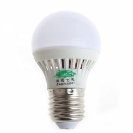 Zweihnder 10x2835 SMD LEDs 300Lumens 170-Degree Beam Angle White Light Globe Bulb (AC 85-265V)