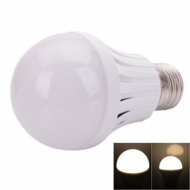 E27 5W 300-400lm 2800-3200K Warm White Light LED Smart Emergency Light Bulb (AC 85-265V)