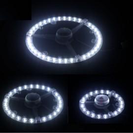 24W LED Ring Tube Ceiling Retrofit Magnet LED Light White Light