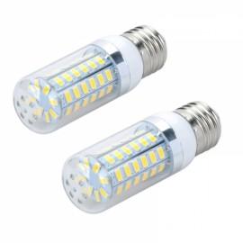 2pcs LED Corn Lamp Bulb E27 12W 820LM 6500K 56-SMD 5730 110V White Light