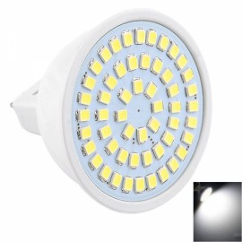 MR16 5W 54x2835SMD LED 6000-6500K White High Brightness LED Light (AC 10-30V)