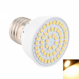 E27 5W 54x2835SMD LED 2800-3200K Warm White High Brightness LED Light (AC 10-30V)