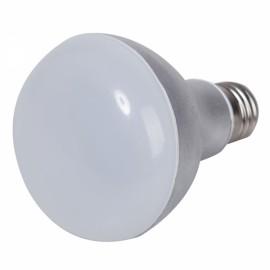 E27 A80 9W 700-720LM 18-SMD 2835 LED 2700-3200K Warm White LED Light Bulb (AC 110-240V) Silver