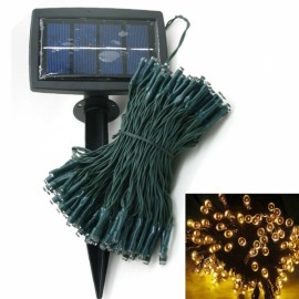 200 LED Solar Power String Light Indoor Outdoor Wedding Decor Warm White