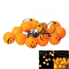 Halloween Prop 16 Pieces Halloween Prop Plastic Pumpkin Lights
