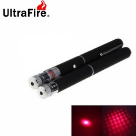 2pcs Ultrafire Mini Star Style 4mW Red Laser Pointers Flashlights Black