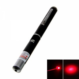 4mW 650nm Ultra Mid-open Red Laser Pointer Pen (2*AAA)