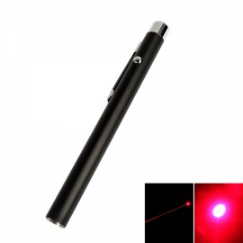 4mW 650nm Open-back Red Laser Pointer Pen (2*AAA)