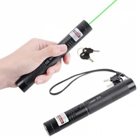 2pcs 532nm 303 Green Laser Pointer With Lazer Starry Head