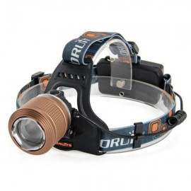 "RJ-2800 T6 ""1000lm"" 3-Mode Zoomable LED Headlamp Coffee"
