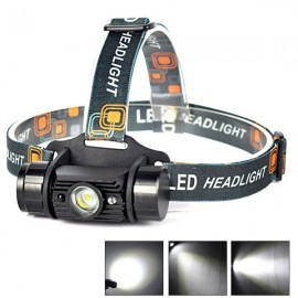 RJ-020 5W 300lm IR USB Charging Fishing Hunting LED Headlamp Black