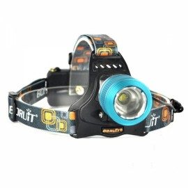 "RJ-2800 T6 ""1000lm"" 3-Mode Zoomable LED Headlamp Blue"