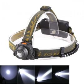 TEEKLAND T6 500LM 3 Mode LED Bicycle Headlight IR Sensor Headlamp Torch