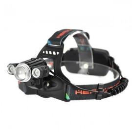 Super Bright 3 LED (1T6) Adjustable Focal Headlight