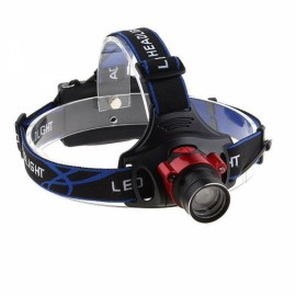 UltraFire New Aluminum Alloy T6 Light 3 File Wireless Sensor Searchlight Black & Red