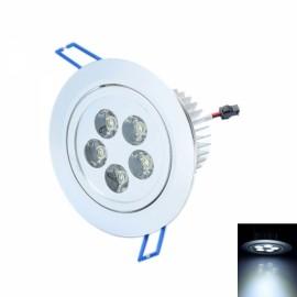 THD-G526 5W 6000K 480LM White 5-LED Ceiling Light Lamp Silver (85~265V)