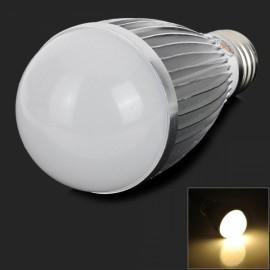 E27 9W 540LM 3000K 18 SMD 5630 LED Warm White Light Bulb Silver & White