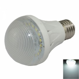 E27 3W 280LM 6500K 10 SMD 2835 LED White Light Bulb White & Translucent (AC85-265V)