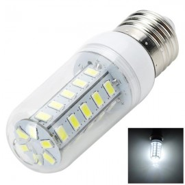 E27 7W 700LM 6200K White Light 36-SMD 5730 LED Corn Lamp Bulb (AC220V)