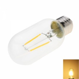 E27 2W T45 2200K Warm White LED Filament Bulb (AC 220V)