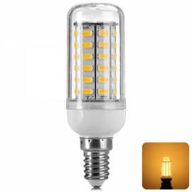 LED Corn Lamp Bulb E14 12W 820LM 3500K 56-SMD 5730 110V  Warm White Light