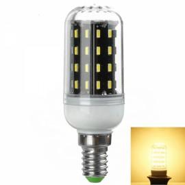 E14 7W 700lm 3000K Warm White Light 56-SMD 4014 LED Corn Lamp Bulb (AC 220-240V)