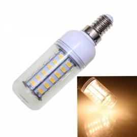 E14 4W 320LM 3500K 48-SMD 5730 LED Corn Lamp Bulb 220V Warm White Light