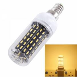 E14 9W 900lm 3000K Warm White Light 96-SMD 4014 LED Corn Lamp Bulb (AC 200-240V)