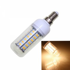 E14 4W 320LM 3500K 48-SMD 5730 LED Corn Lamp Bulb 110V Warm White Light