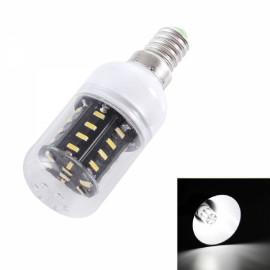 E14 5W 400lm 6000KWhite Light 36-SMD 4014 LED Corn Lamp Bulb (AC 220-240V)