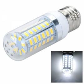 E27 12W 820LM 6500K LED Corn Lamp Bulb 56-SMD 5730 220V White Light
